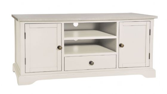 Lostwithiel Ivory TV Unit - Special Order